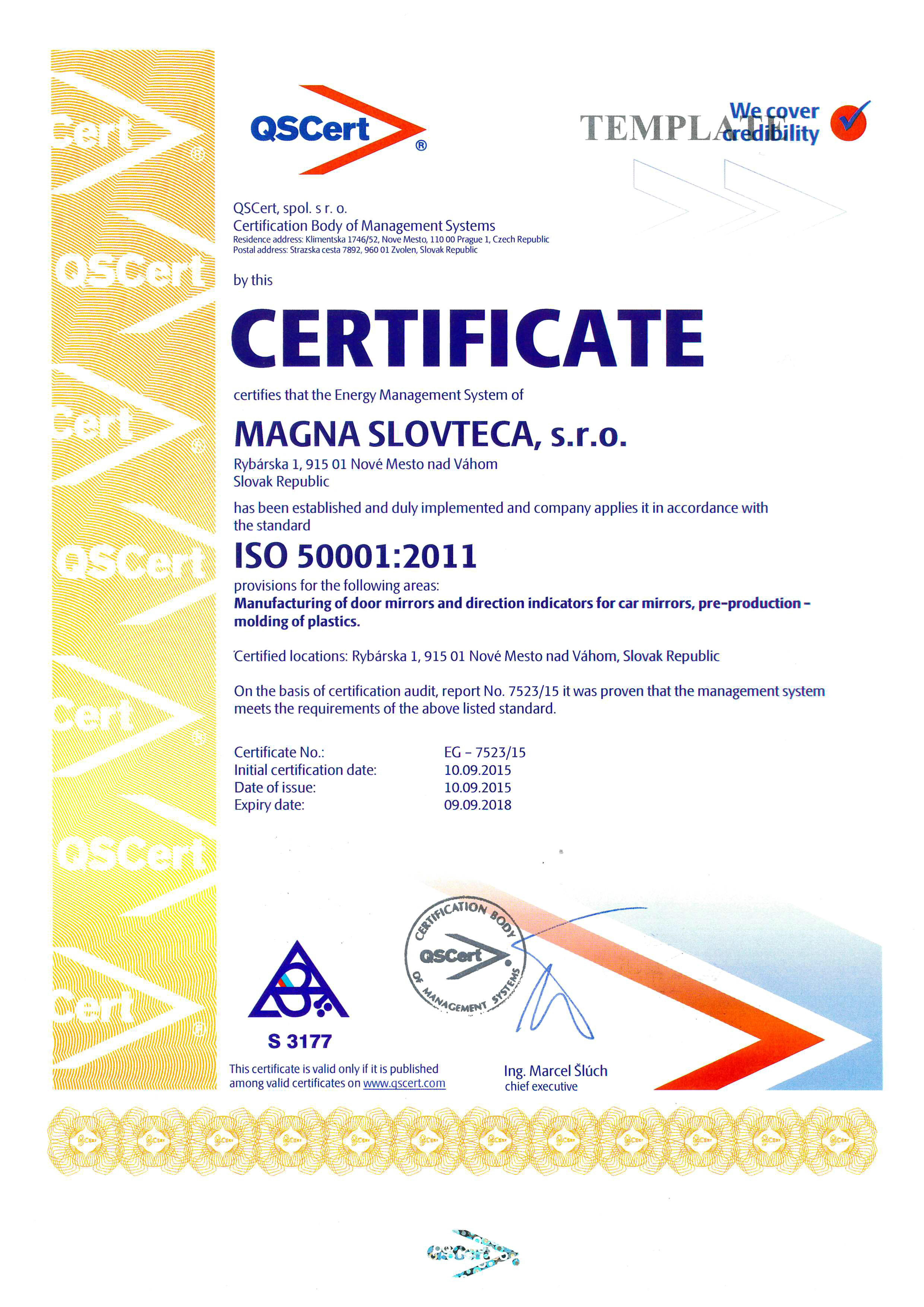 Qscert South Africa Fssc Food Safety Gfsi Dean Dreyden Haccp Electrical Wiring Certificate Certifikcia Iso 50001