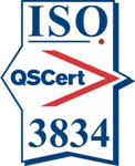 Certification mark ISO 3834