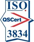 Certification mark ISO 3834