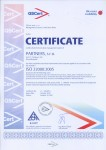 EXAMPLE: Certificate ISO 22000