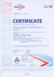 EXAMPLE: Certificate ISO/IEC 27001