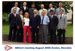 QSCert - Meeting of foreign partners, Zvolen, August 2008
