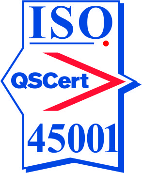 Certification mark ISO 45001